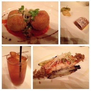 restaurant week meals