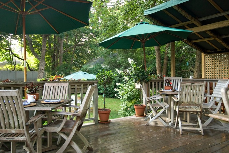 Marshall Slocum Inn Deck